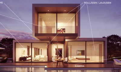 Smart-Home sorgt für Sicherheit