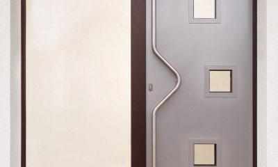 Zoellner Fensterbau KG - Referenzen - futuristische Haustueren - Bsp. 06