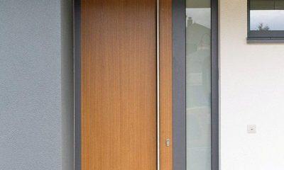 Zoellner Fensterbau KG - Referenzen - futuristische Haustueren - Bsp. 14